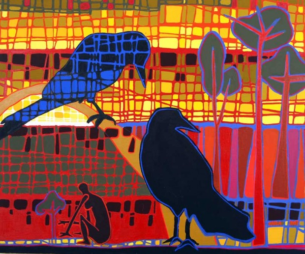 My Painting, at My Window essay by Maurice O'Riordan