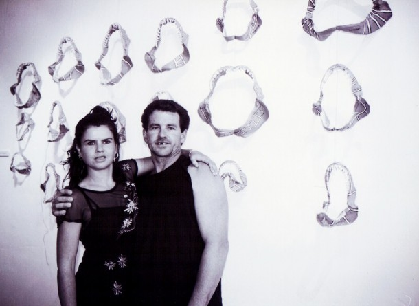 My brother and myself with Shark Jaw Installation