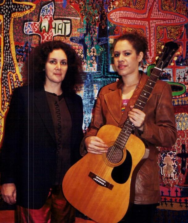 Rhonda Grovenor and Nadine Dixon